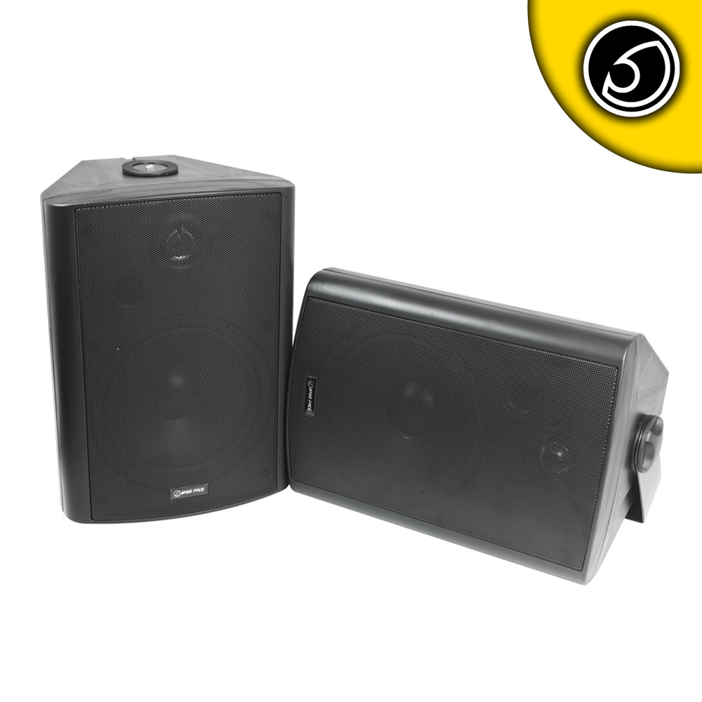 Bassface SPLBOX.3B 600w Marine Boat Patio Outdoor Garden Waterproof Speaker Pair