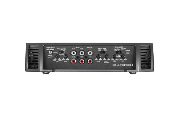 Bassface BLACKDB4.1 2000W 2/3/4 Channel Class D Bridgeable Stereo 12v Power Amplifier Thumbnail 5