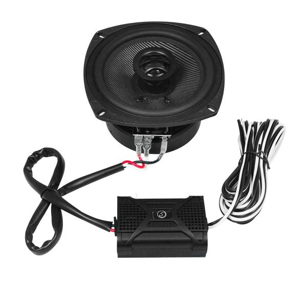 "Bassface BLACKSPL5.1 640w 5.25"" Inch 13cm SQ Coaxial 2Way Car Door Speakers Pair Thumbnail 4"