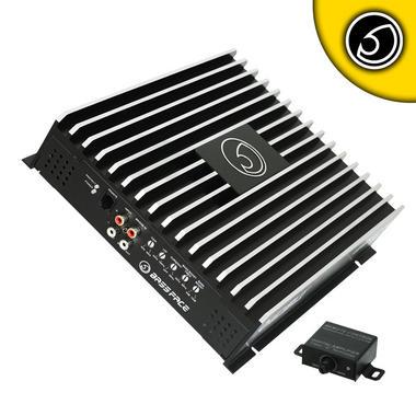 Bassface DB1.1 1400w 1Ohm Class D Monoblock Car Subwoofer Amplifier Mono Sub Amp Thumbnail 1
