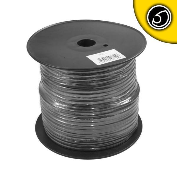 Bassface PWN8.1 75m Roll CCA 8AWG 8.4mm Black Negative Cable 728 Strand Thumbnail 1