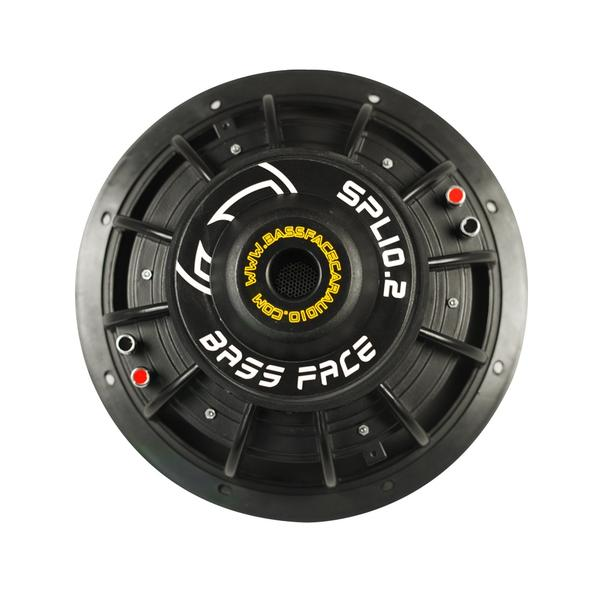 "Bassface SPL10.2 10"" Inch 25cm 1400w Car Subwoofer 2x4Ohm DVC Sub Woofer SPL SQ Thumbnail 4"