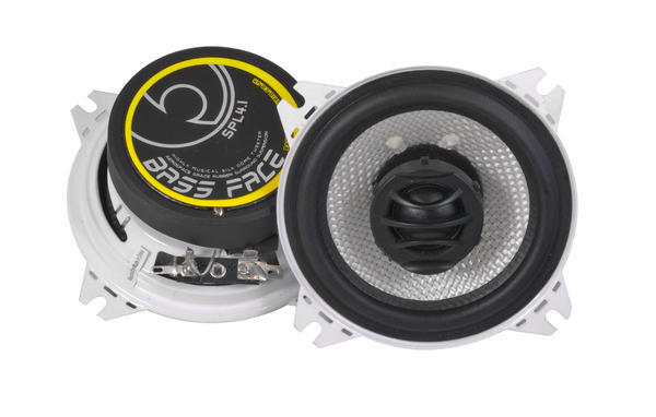 "Bassface SPL4.1 400w 4"" Inch 10cm 4Ohm Coaxial 2 Way Speaker Pair Thumbnail 2"