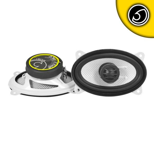 "Bassface SPL46.1 300w 4x6"" Inch 10x15cm 4Ohm Coaxial 2 Way Speaker Pair Thumbnail 1"