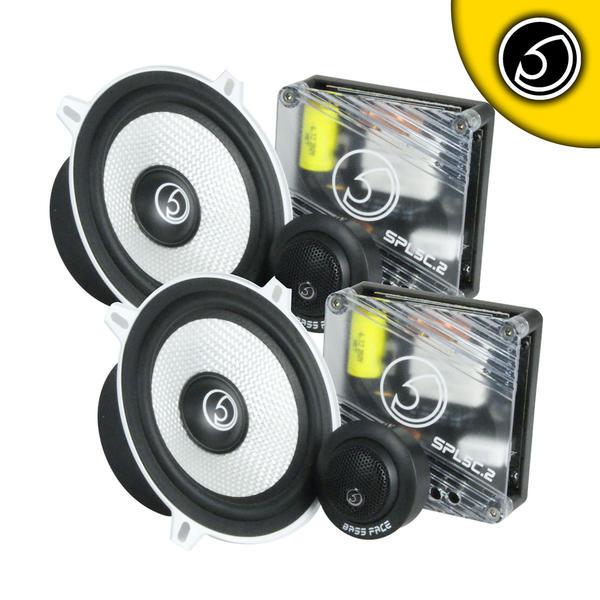 "Bassface SPL5C.2 700w 5.25"" Inch 13cm 4Ohm Component Speaker & Tweeter Kit Thumbnail 1"