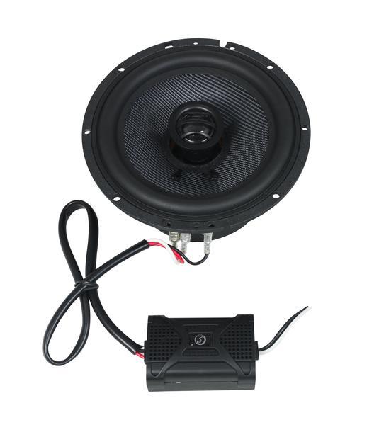"Bassface BLACKSPL6.1 740w 6.5"" Inch 17cm 4Ohm Coaxial 2 Way Speaker Pair Thumbnail 2"