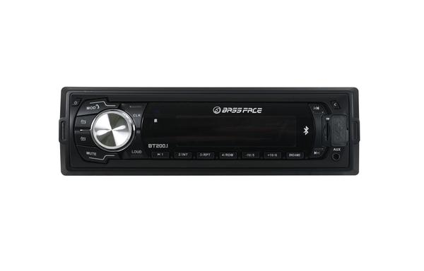 Bassface BT200.1 240w 12v Single DIN Bluetooth Head Unit With MP3 AUX USB SD & Radio Thumbnail 2