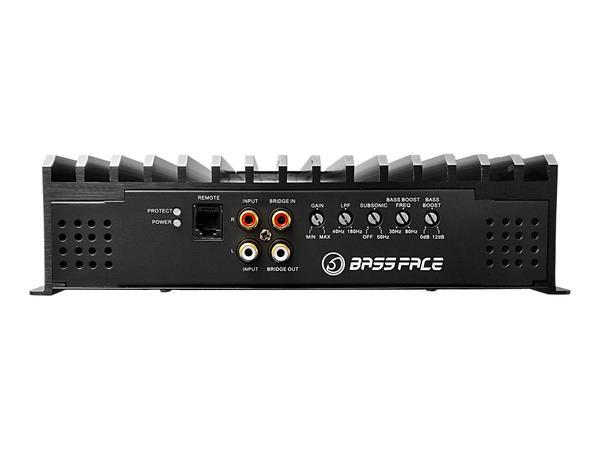 Bassface DB1.1 1400w 1Ohm Class D Monoblock Car Subwoofer Amplifier Mono Sub Amp Thumbnail 4