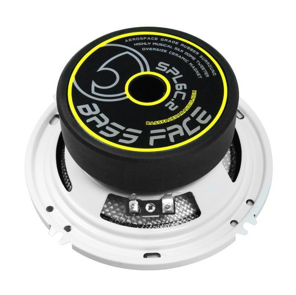 """Bassface SPL6C.2 900w 6.5"""" Inch 16.5cm Car Door Component Speaker & Tweeter Kit Thumbnail 3"""