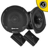 "Bassface BLACKSPL5.1 640w 5.25"" Inch 13cm 4Ohm Coaxial 2 Way Speaker Pair"