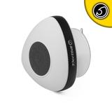 Bassface BTSW.1WHITE Rechargeable Waterproof Bluetooth Portable Speaker & FM Radio