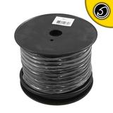 Bassface PWN4.1 30m Roll CCA 4AWG 21mm Black Negative Cable 1862 Strand