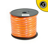 Bassface PWP0.1 15m Roll CCA 0AWG 53mm Orange Power Cable 4704 Strand