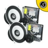 "Bassface SPL5C.2 700w 5.25"" Inch 13cm 4Ohm Component Speaker & Tweeter Kit"