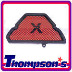 Triumph Tiger 1050 07> Pipercross MPX117 Race Induction Air Filter Kit