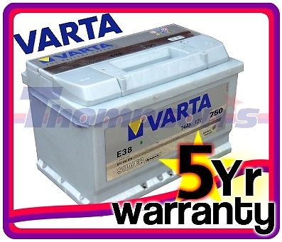 renault grand scenic 2 1 5 dci 106hp diesel 04 varta silver 12v car battery ebay. Black Bedroom Furniture Sets. Home Design Ideas