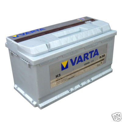 varta renault trafic 2 5 diesel heavy duty van battery ebay. Black Bedroom Furniture Sets. Home Design Ideas