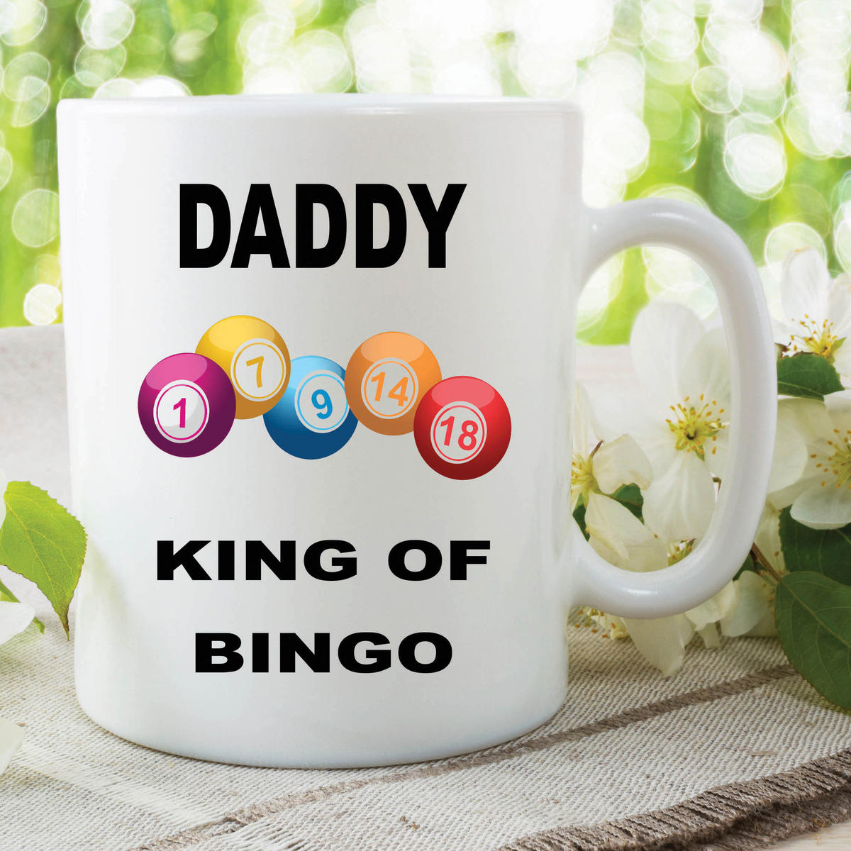 Funny Novelty Mugs Joke Adult Humour Daddy King Bingo Fathers Day WSDMUG612