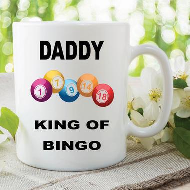 Funny Novelty Mugs Joke Adult Humour Daddy King Bingo Fathers Day WSDMUG612 Thumbnail 1