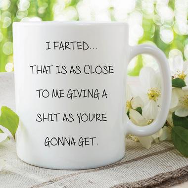 Fart Mug Funny Novelty Valentines Joke Girlfriend Birthday Boyfriend WSDMUG596 Thumbnail 1