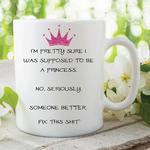 Adult Humour Funny Novelty Mug Princess Tea Coffee Cup Work Gift WSDMUG208