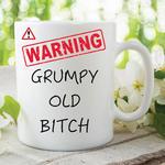 Adult Humour Funny Novelty Mug Grumpy Old Bitch Kitchen Cup Work Gift WSDMUG228