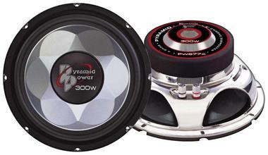 "Pyramid Power 6.5"" 16.5cm 300w Mid Bass Driver Car Door Shelf Subwoofer Speaker Thumbnail 1"