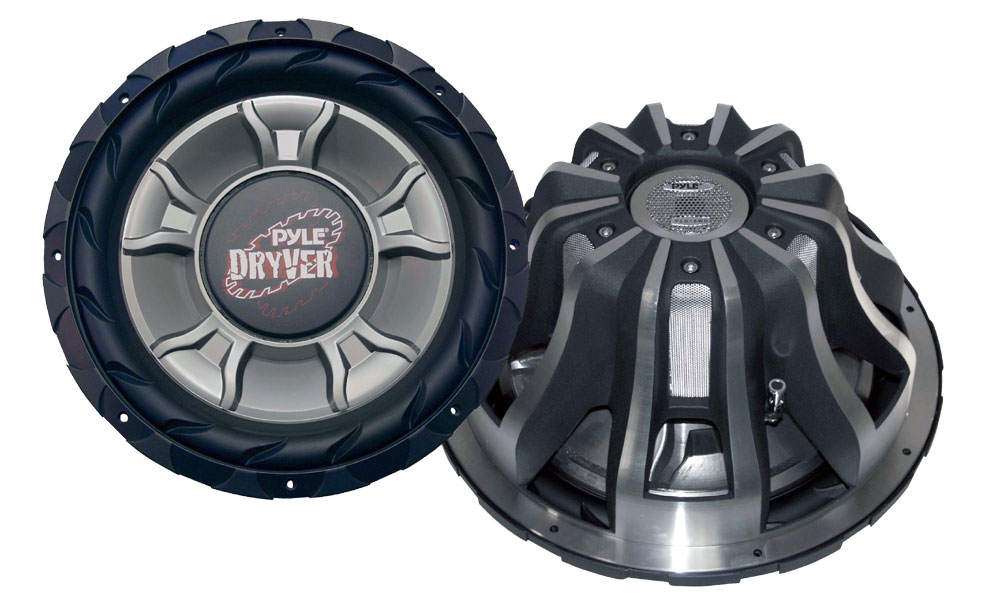 "Pyle PLD15WD 4000W 15"" inch DVC Car Audio Bass Sub Subwoofer"