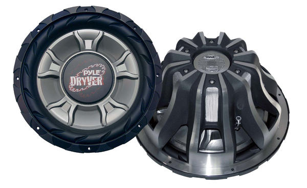 "Pyle PLD15WD 4000W 15"" inch DVC Car Audio Bass Sub Subwoofer Thumbnail 1"