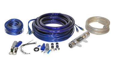 Lanzar AMPKIT0 0 Awg Gauge Car Amp Amplifier Power & Earth Wiring Kit 5m RCA Thumbnail 1