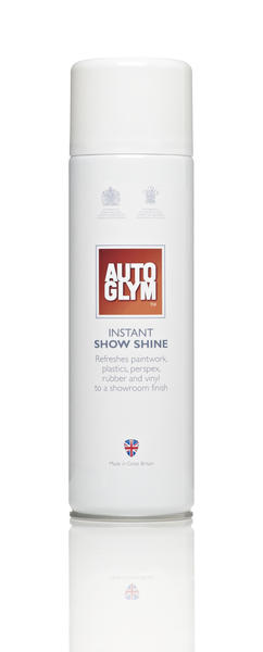 Autoglym 46012B Car Detailing Cleaning Interior Instant Show Shine 450ml Aerosol Thumbnail 1