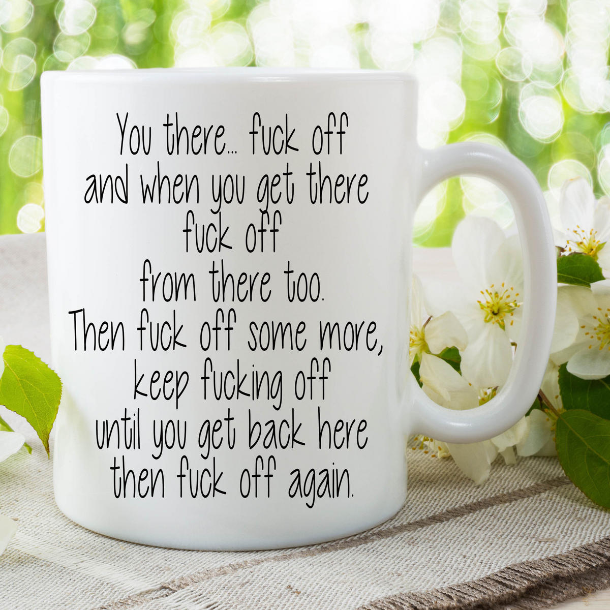 Funny Novelty Mugs Work Office Humour Cup Ceramic Joke Adult Offensive WSDMUG658