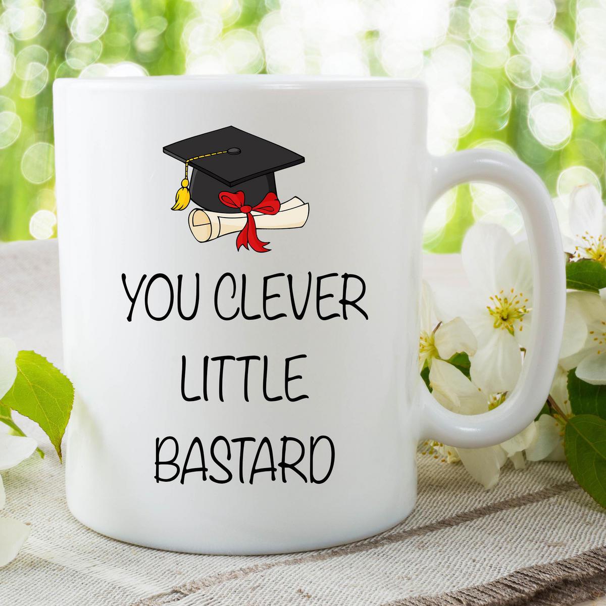 Funny Novelty Mug Adult Offensive Graduation Student Ceramic Cup Gift WSDMUG29