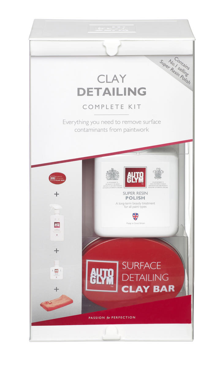 Autoglym VPCLAYKIT Car Detailing Cleaning Exterior Surface Detailing Clay Kit Kit