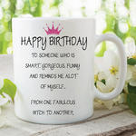 Adult Humour Funny Novelty Mug Friends Quote Tea Coffee Cup Work Gift WSDMUG212