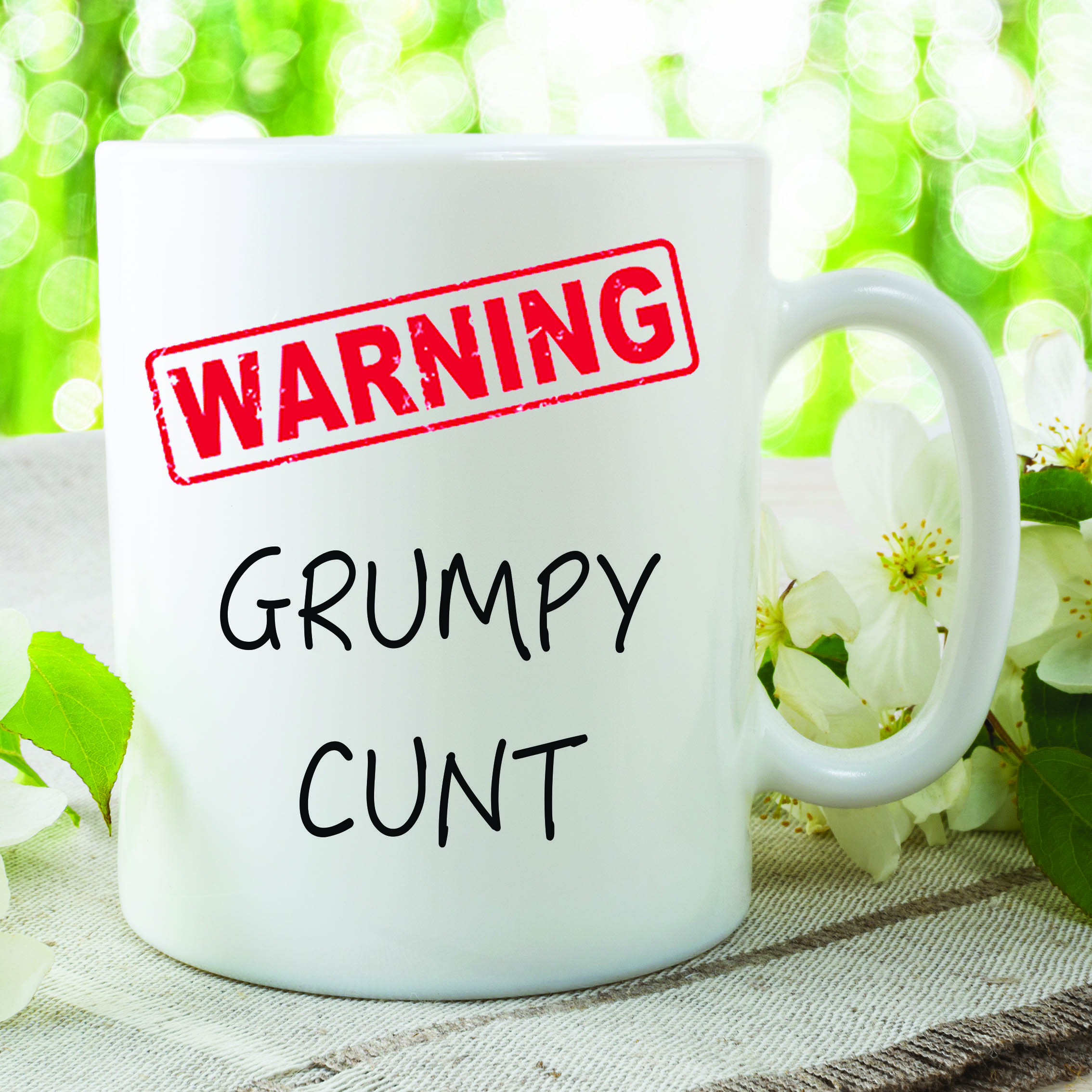 Adult Humour Funny Novelty Mug Grumpy Censored Kitchen Cup Work Gift WSDMUG230