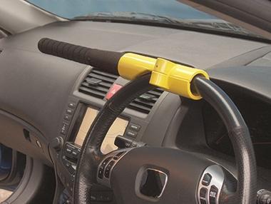 Streetwize SWBBL Automotive Car Van Baseball Bat Style Steering Wheel Lock Single Thumbnail 1