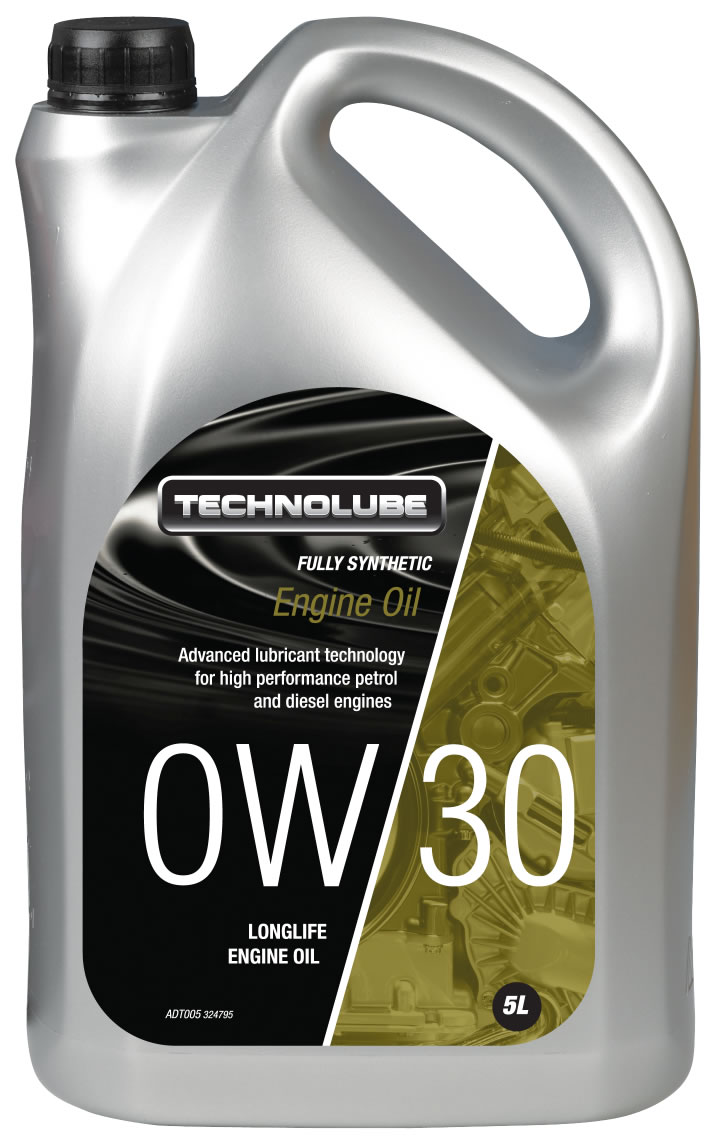 Technolube ADT005 0W-30 Honda Renault Volvo Fully Synthetic 5 Litre Engine Oil