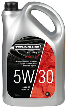 Technolube ATQ005 5W-30 Car Van Fully Synthetic 5 Litre Engine Oil Thumbnail 1