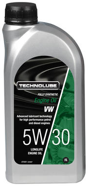 Technolube ATV001 5W-30 VW Group Fully Synthetic 1 Litre Engine Oil Thumbnail 1