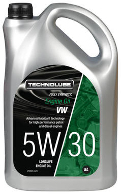 Technolube ATV005 5W-30 VW Group Fully Synthetic 5 Litre Engine Oil Thumbnail 1