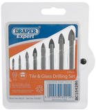 Draper 48221 Expert 8 Piece Tile and Glass Drilling Set