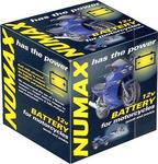 Numax YB12ALA2 12v Motorbike Motorcycle Battery YB12AL-A YB12AL-A2 12N12A-4A-1