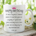 Adult Humour Funny Novelty Mug Friends Quote Tea Coffee Cup Work Gift WSDMUG211