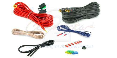 Connects2 CT3510AWG 10 AWG Amp Wiring Kit Thumbnail 1