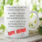 Adult Humour Funny Mug Novelty Meme Quote Age Joke Happy Birthday Cup WSDMUG176