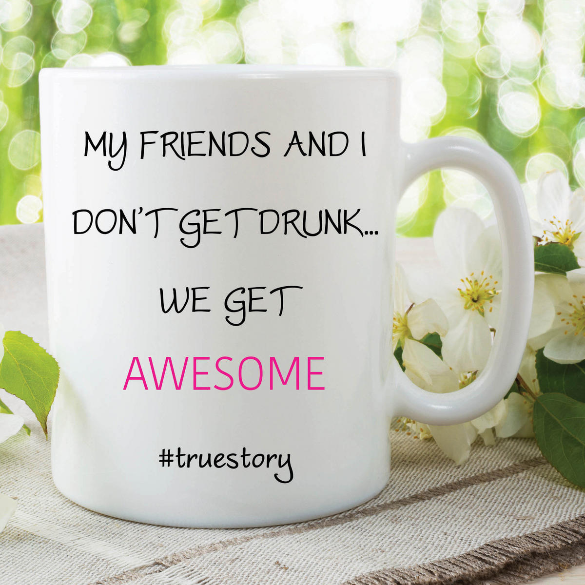Funny Novelty Mugs Best Friend Gift Birthday Awesome Best friends Cups WSDMUG605