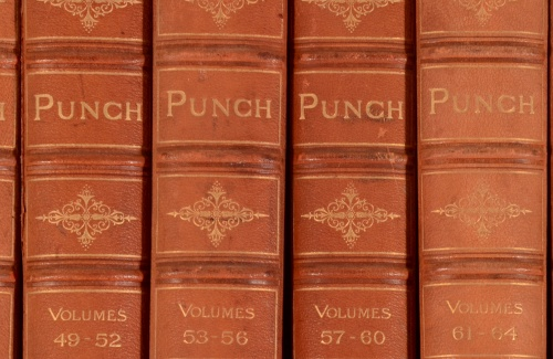 1841-1895-26vol-Punch-Magazine-Uniformly-Bound-100-Issues-With-History-Humour