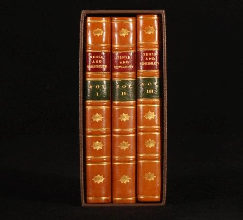 1811-NOVEL-Sense-Sensibility-by-Austen-FIRST-EDITION