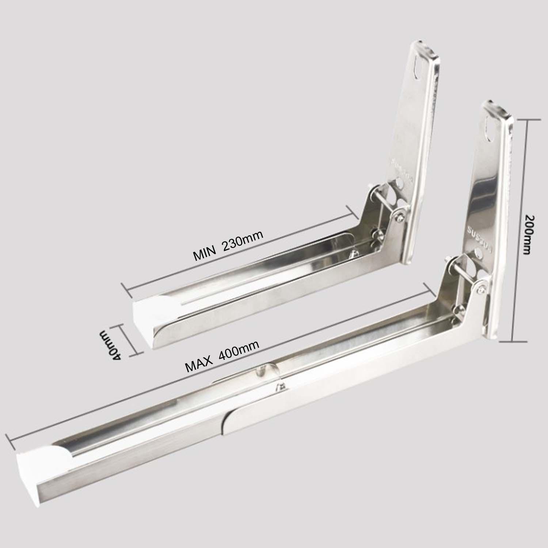 507251 soporte de microondas cocina estante horno ngulo - Soportes para microondas ...